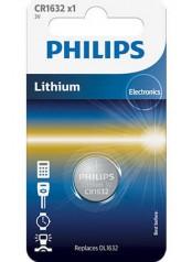 baterie LITHIUM 1ks (CR1632/01B, CR 2032, 3,00V)