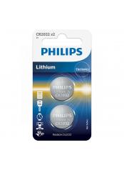 baterie LITHIUM 2ks (CR2032/01B, CR 2032, 3,00V)