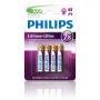 Philips baterie LITHIUM ULTRA 4ks (FR03LB4A/10, AAA)