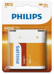 Philips baterie LONG LIFE 1ks (3R12L1B/10, 4,5V)