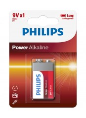 baterie POWER ALKALINE 1ks (6LR61P1B/10, 9V)