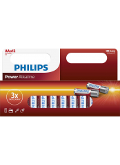 baterie POWER ALKALINE (LR06P12W/10, AA, 12ks)