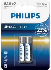baterie ULTRA ALKALINE 2ks (LR03E2B/10, AAA, 1,5V)